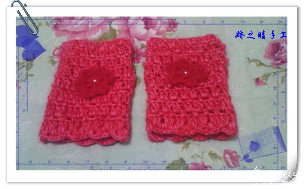 最近钩织的围巾,帽子,手套