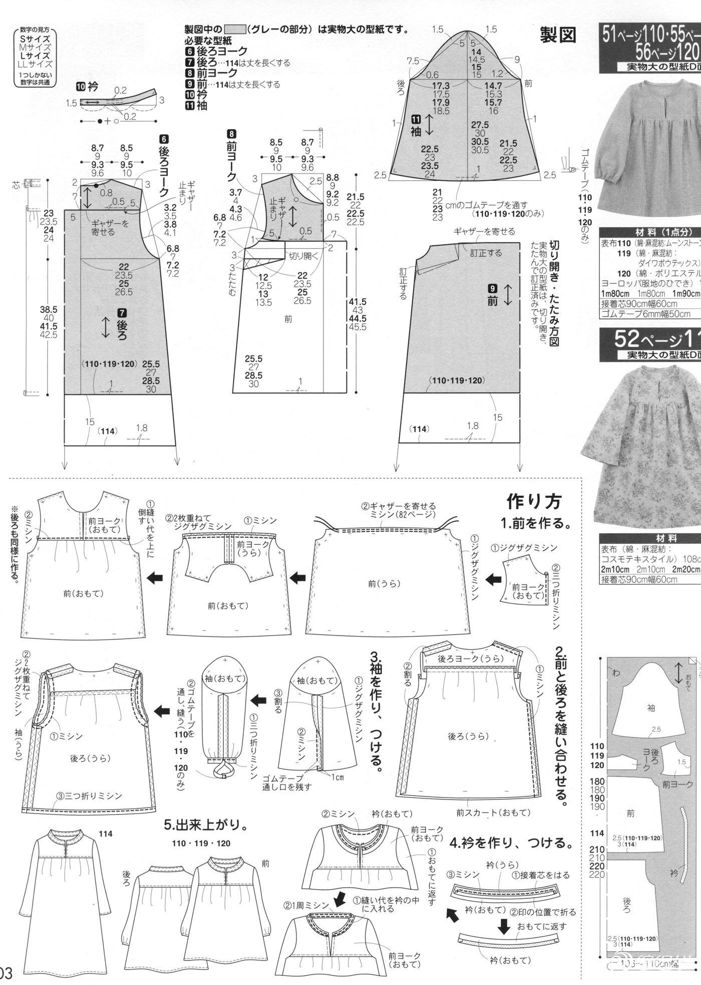 儿童裁剪图_服装设计与裁剪_编织人生论坛