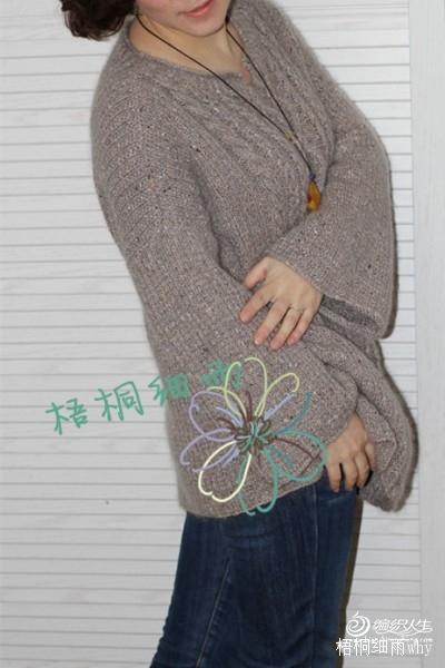 [套头衫] 【梧桐细雨】宽松文艺范罩衫-----浅 唱 - yn595959 - yn595959 彦妮