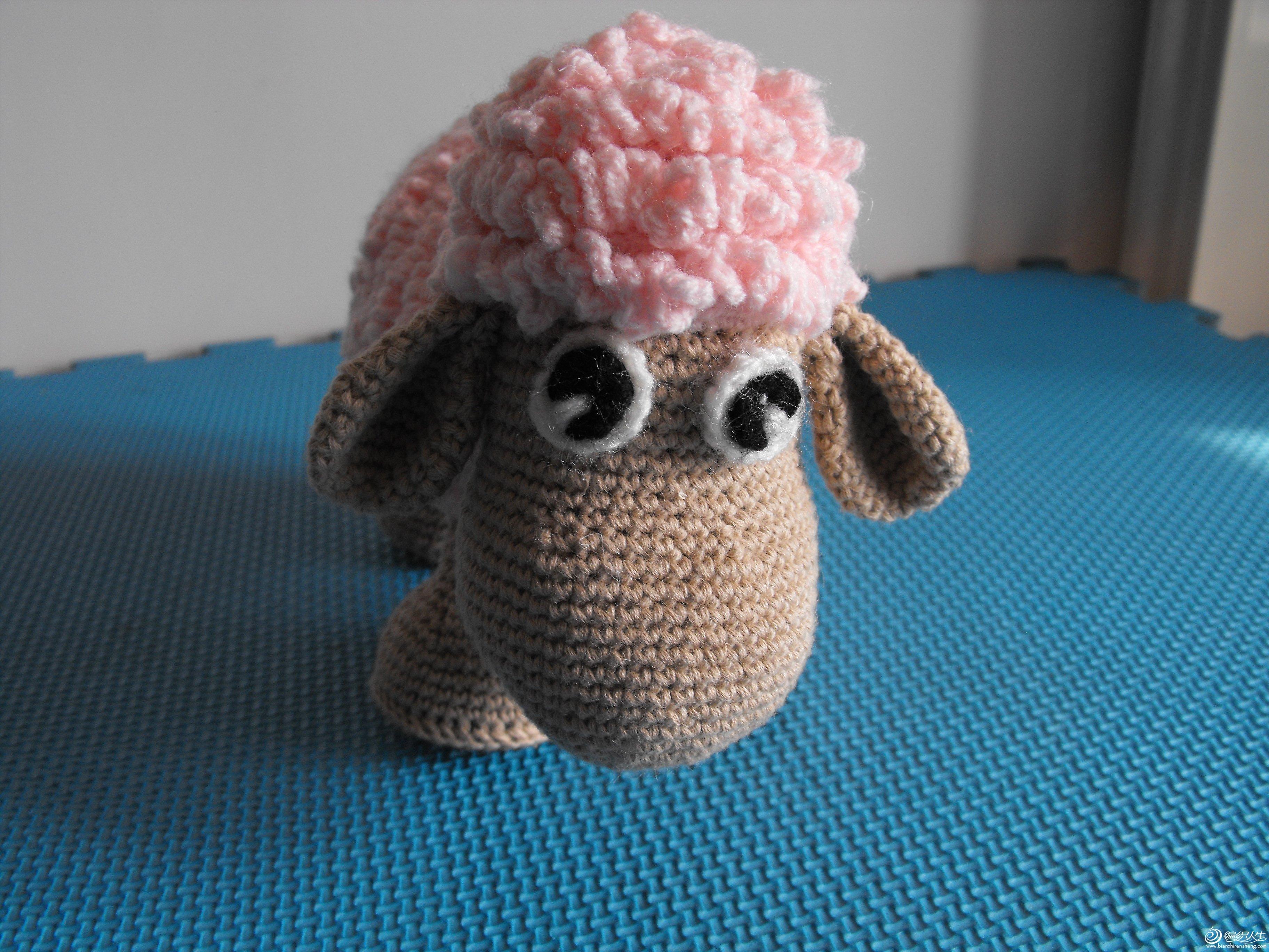 交作业了 我完成的 羊_编织人生论坛