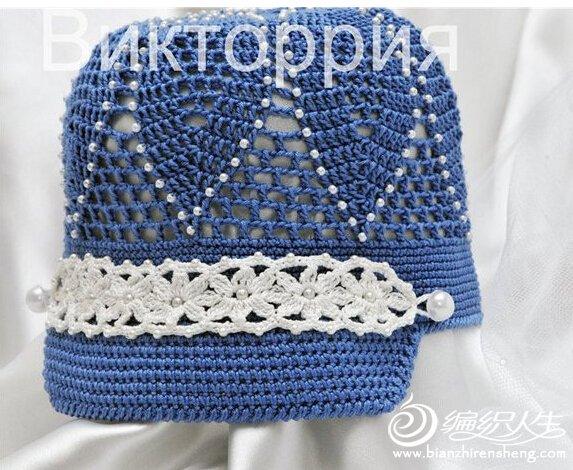 男童镂空防晒帽 - 壹一 - 壹一编织博客