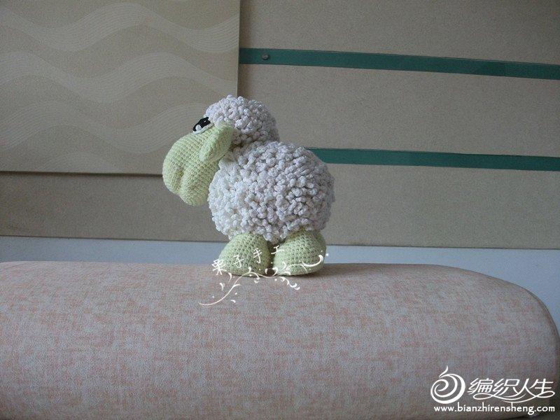 毛线编织小羊