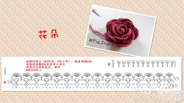 [编织花样] 玫瑰花 - yn595959 - yn595959 彦妮