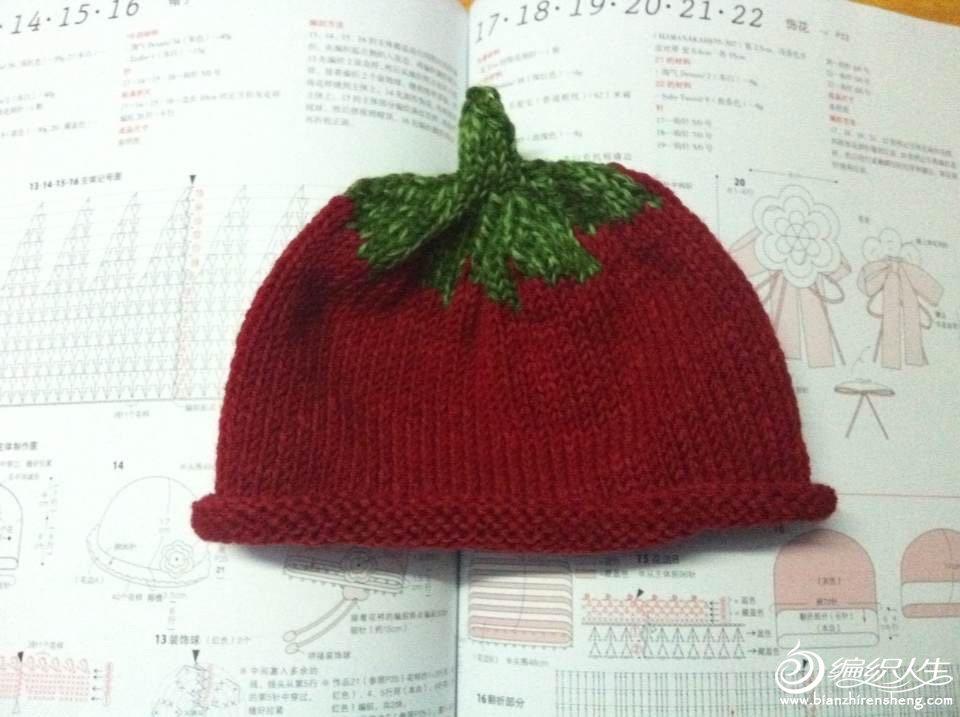 69 儿童服饰编织交流 69 儿童毛衣(棒针) 69 宝宝帽子,可爱番茄
