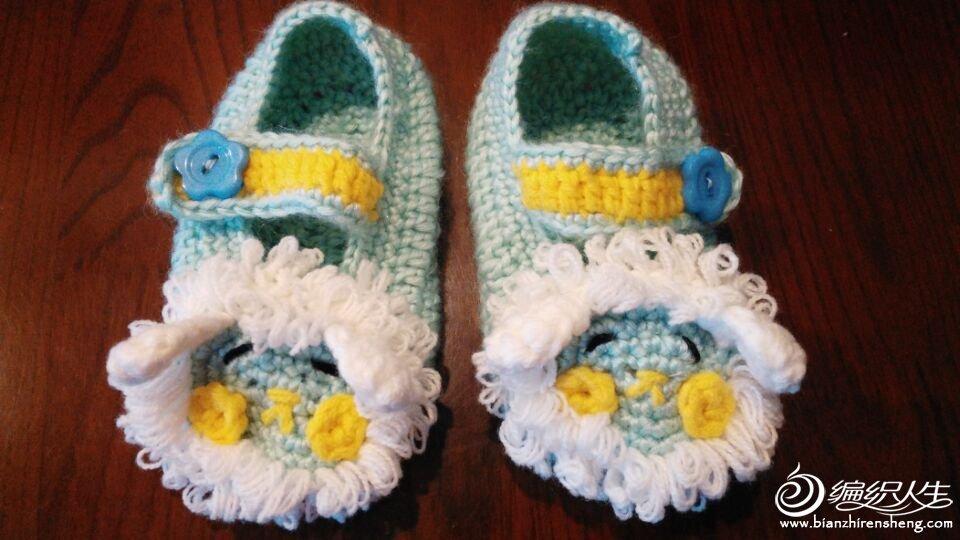 可爱的婴儿帽和小鞋子(附图解)