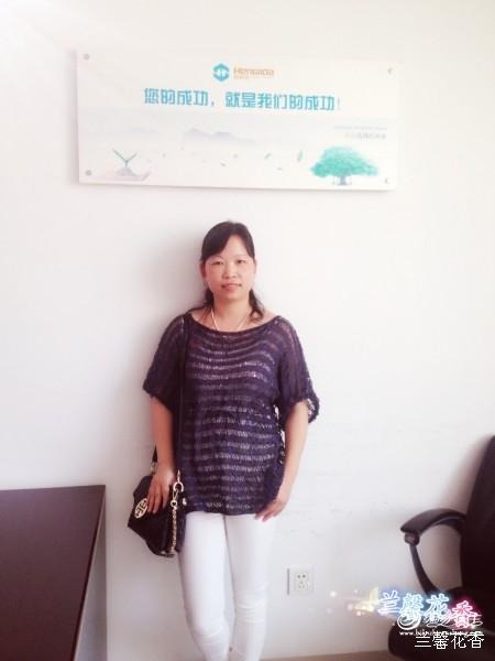 [套头衫] 【兰馨花香】---夏雨荷——亮片丝麻衫201516 - yn595959 - yn595959 彦妮