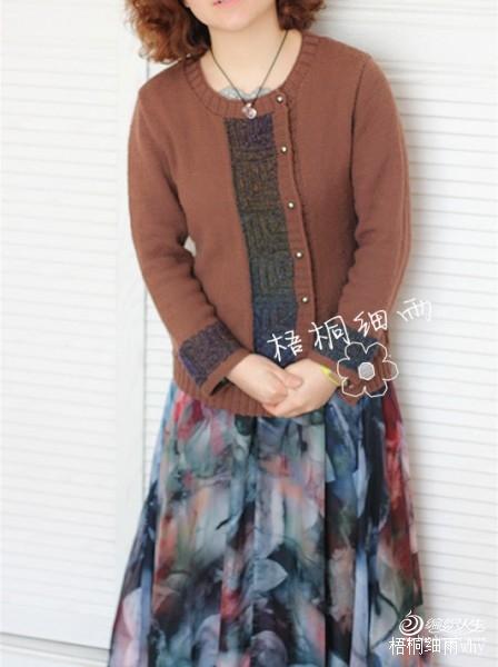【梧桐细雨】优雅复古开衫(有视频)~~~云锦 - yn595959 - yn595959 彦妮