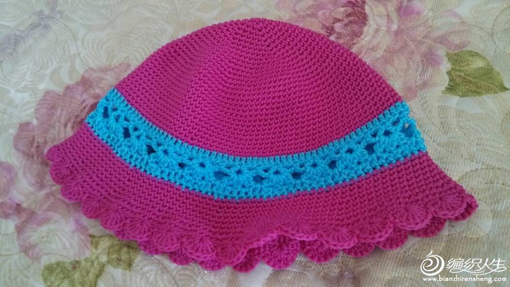 幼儿园手工凉帽制作