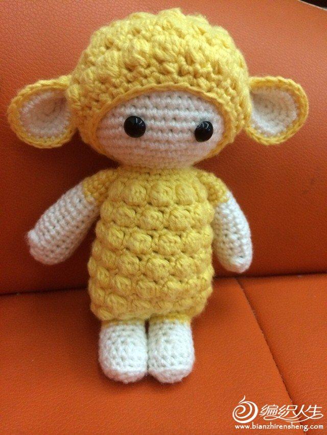 羊驼娃娃_编织人生论坛