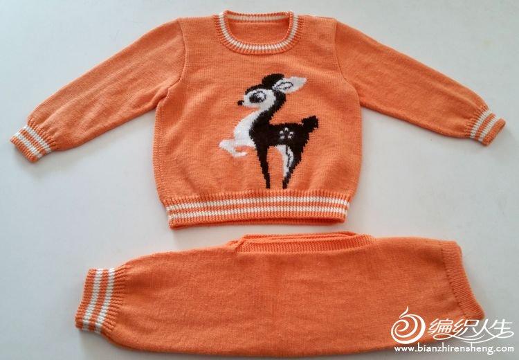 【依可爱】 纯手工编织--快乐的小鹿~有图解