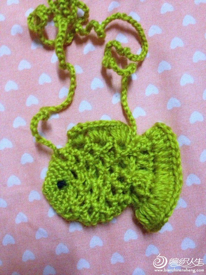 端午编蛋袋之钩针小金鱼蛋袋-编织教程-编织人生