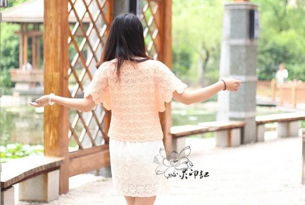 [套头衫] 【心灵印记】花影——花瓣短袖衣 - yn595959 - yn595959 彦妮