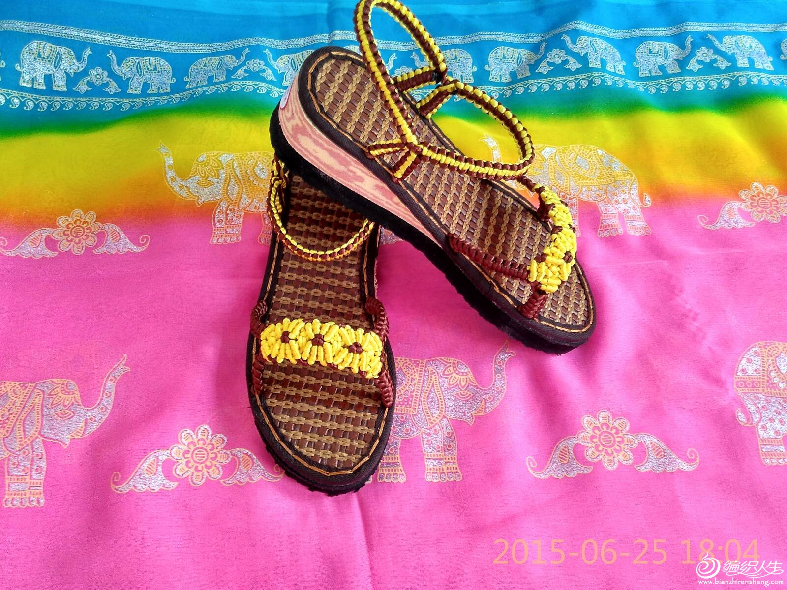 手工编织拖鞋,凉鞋图片