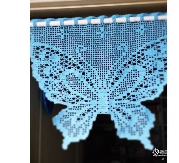 [家居] 飞来的蝴蝶一一漂亮的蝴蝶窗帘 - yn595959 - yn595959 彦妮