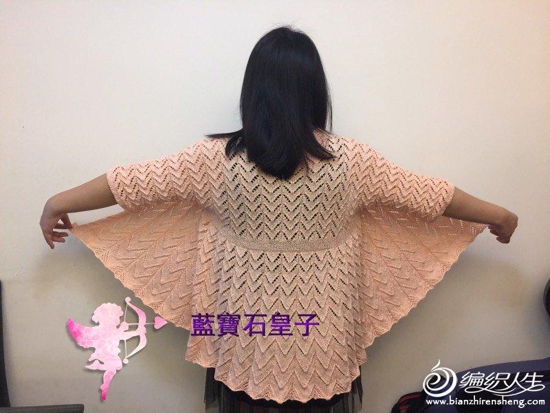 [开衫] 我的珍珠麻改版馬仙衣 (菜鳥小分享) - yn595959 - yn595959 彦妮