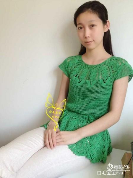 绿色套头衣 - peiyimig - peiyimig的博客