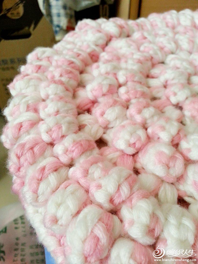 钩针编织作品区 69 钩针编织作品秀 69 蓬松的圆形坐垫【有图解】