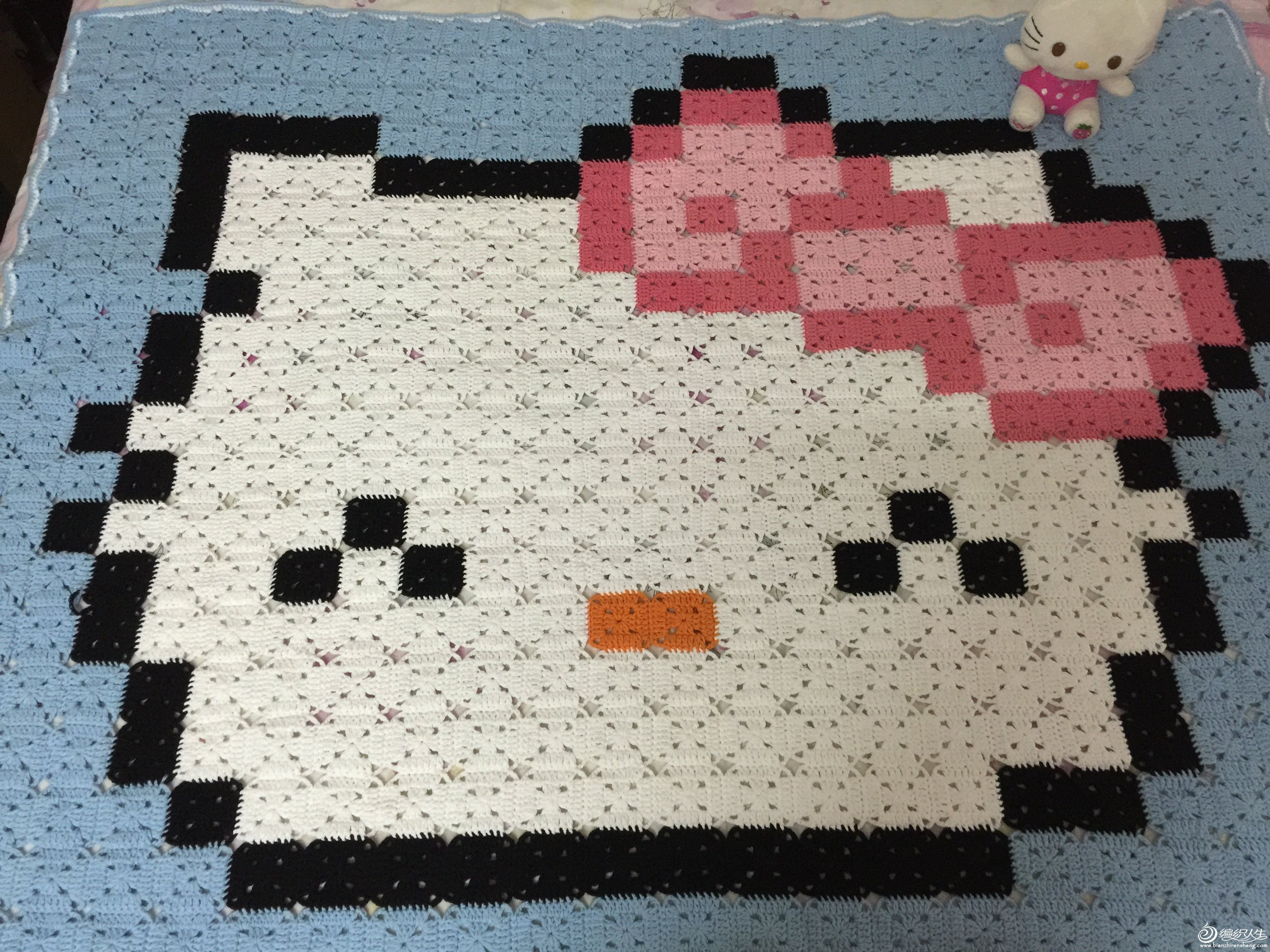KITTY拼花毯