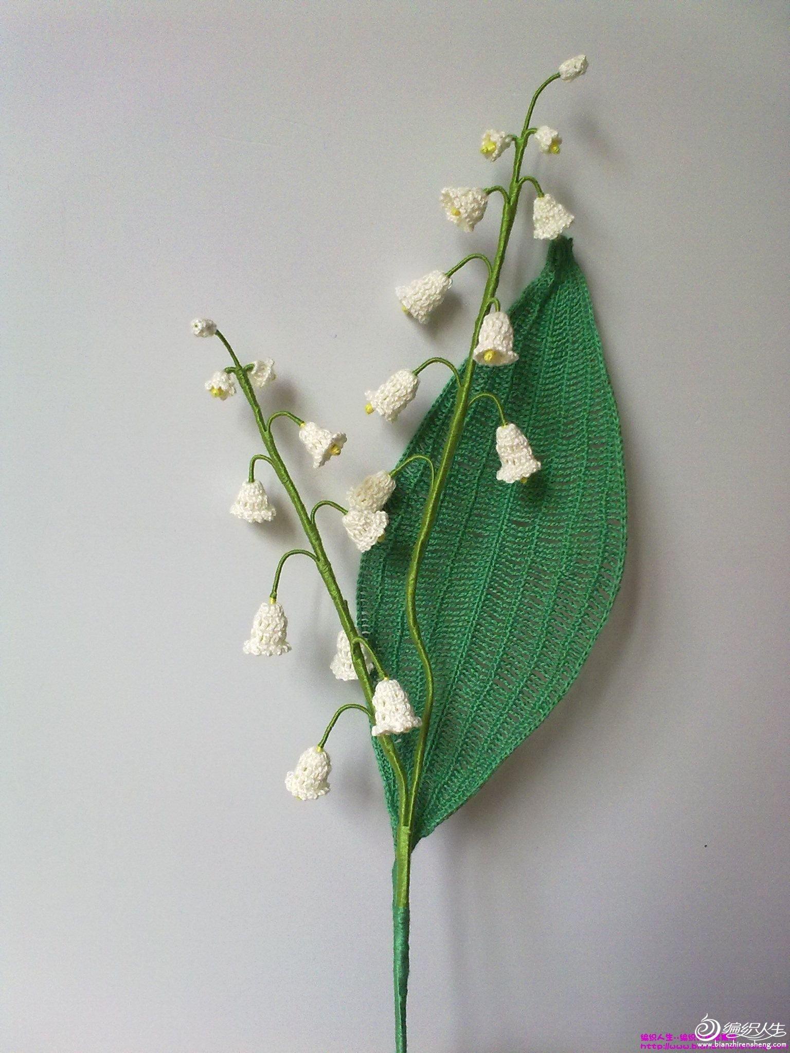 钩针花卉——玫瑰花,康乃馨,百合花,郁金香,风铃花,还有小盆绣球花.