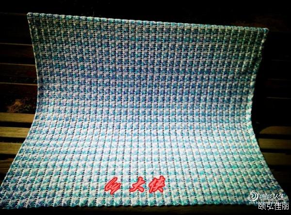 [披肩] 毯子控的手艺之一----------兰蔻若白 - yn595959 - yn595959 彦妮