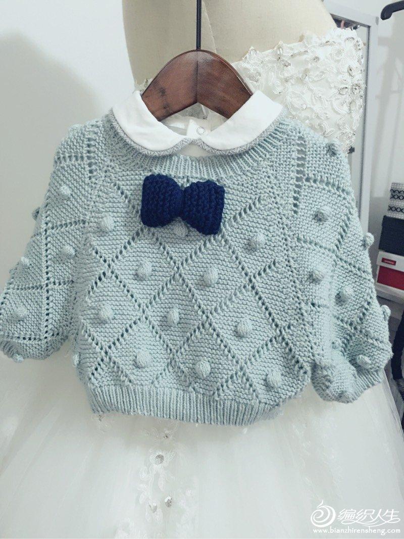 手编婴幼儿毛衣