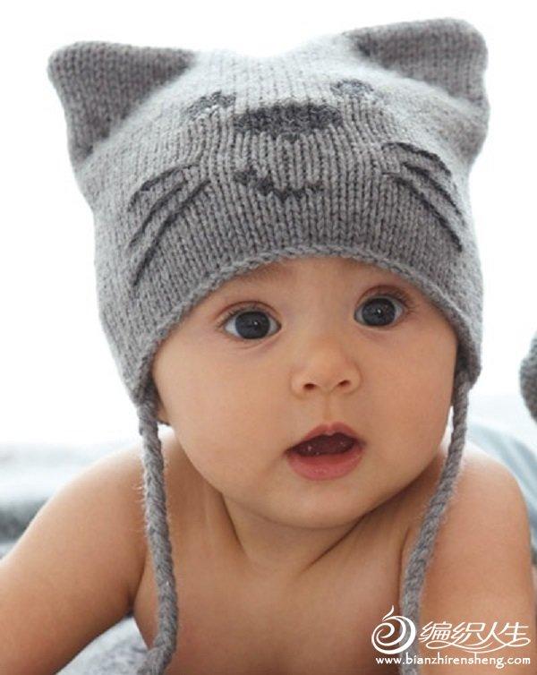 童小猫咪帽子 - 壹一 - 壹一编织博客