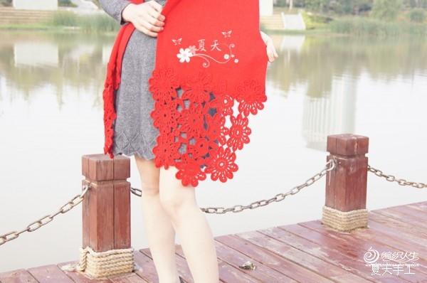 [围巾] 【夏天手工】——山菊花 围巾 - yn595959 - yn595959 彦妮