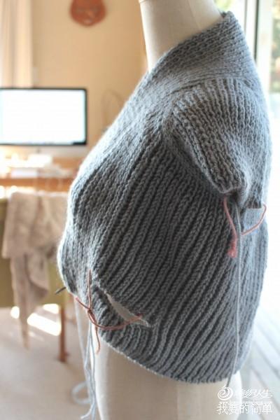 [开衫] 我要的简单 绽放的开衫 过程图 - yn595959 - yn595959 彦妮