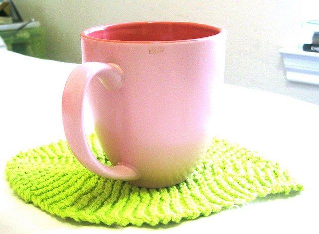 [转载]【粉紅玫瑰】Leafy Washcloth~彩葉洗碟布 - li98929 - 老妖儿的博客