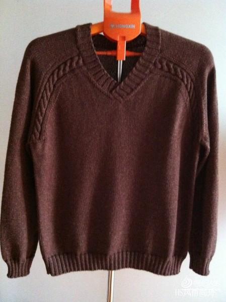 [男式毛衣] 暖心----仿男人帮 - yn595959 - yn595959 彦妮