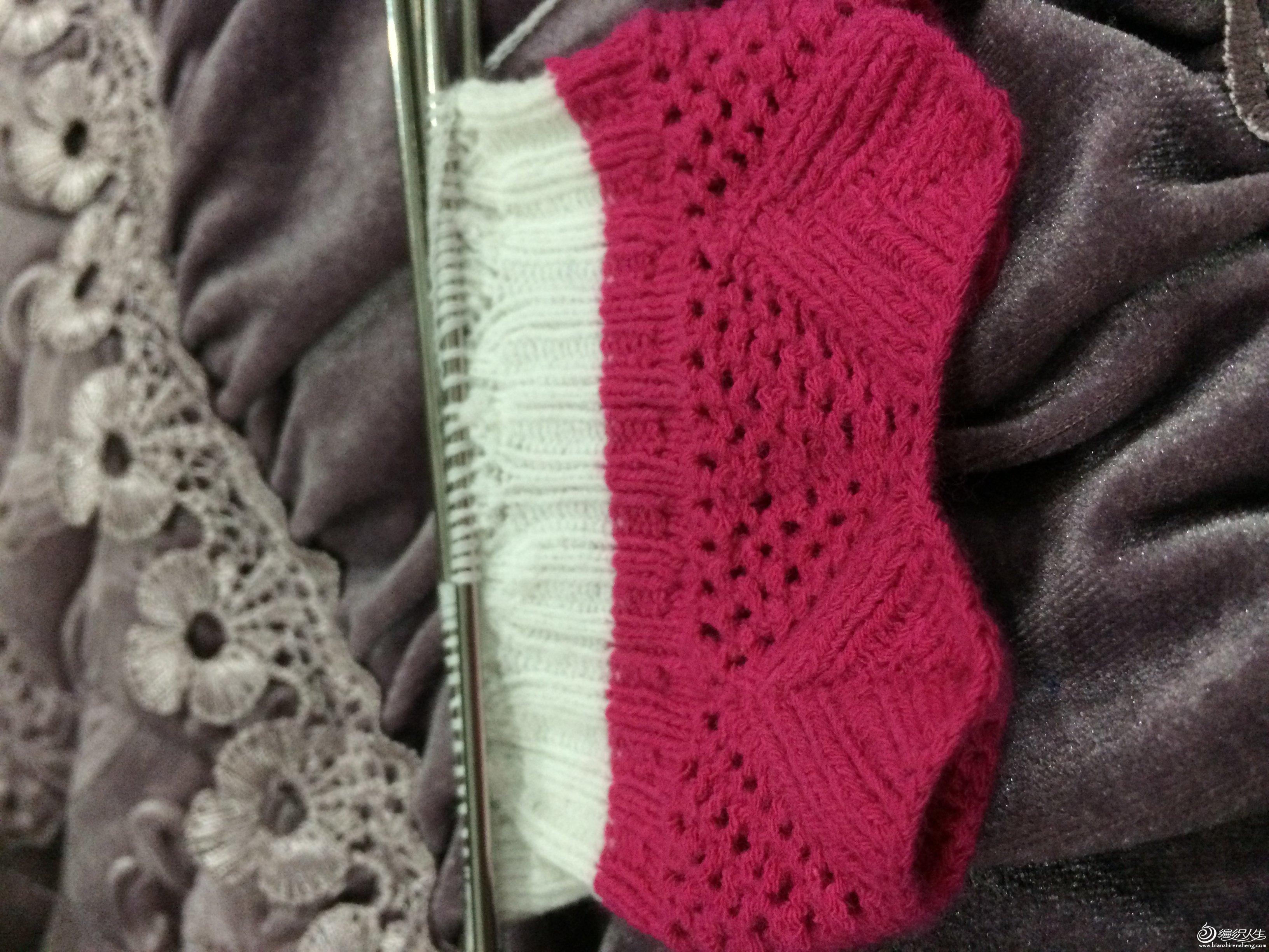 十一月黄叶飘洒-镂空花边袜子