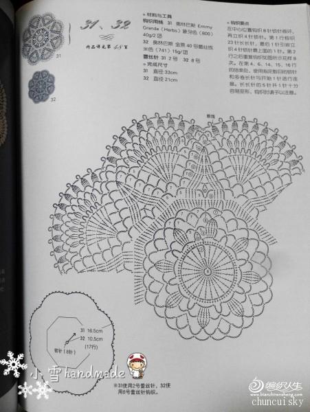 [家居饰品] 【小雪手工】精致八角形餐垫(有图解) - yn595959 - yn595959 彦妮