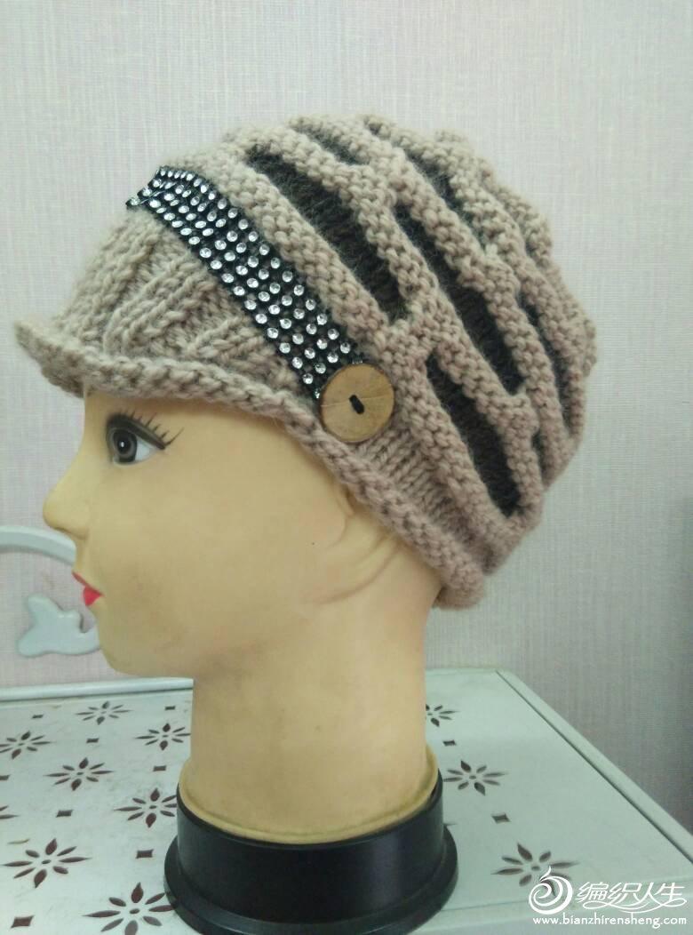 女士毛线帽