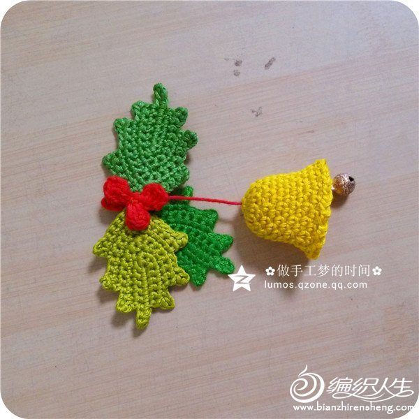 钩针圣诞装饰