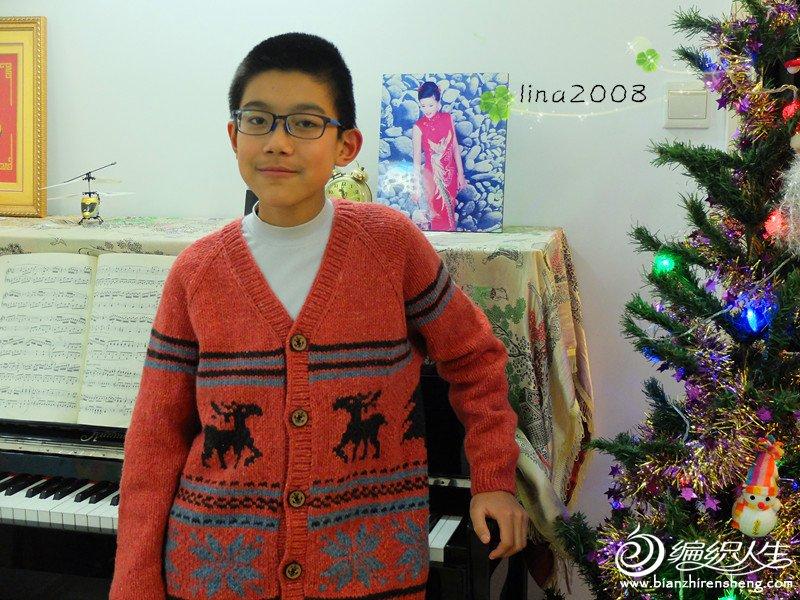 男孩圣诞毛衣