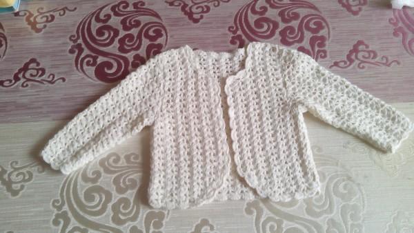 [50~80cm婴幼儿毛衣] 给我家小美女钩的公主套裙 - yn595959 - yn595959 彦妮