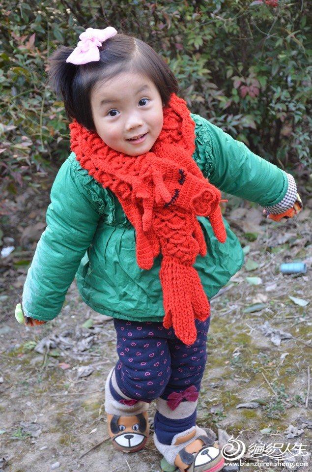 生肖围巾龙形围巾
