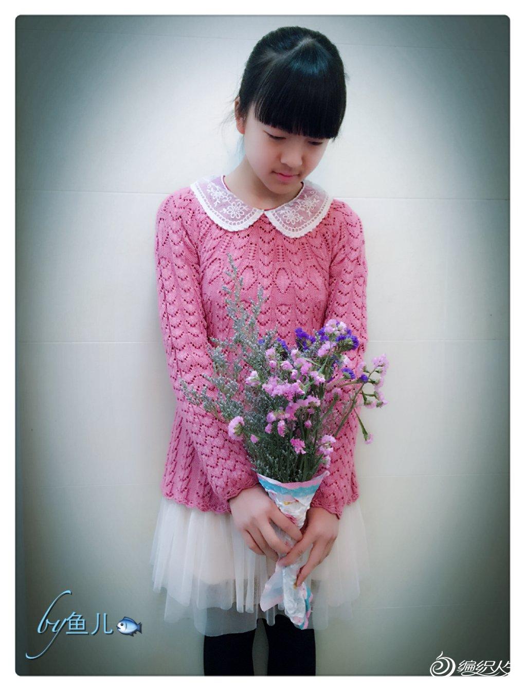 甜美女孩毛衣