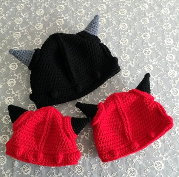 牛角帽转自编织人生duomei007 - yixinniuniu2002 - 宝宝丫的博客