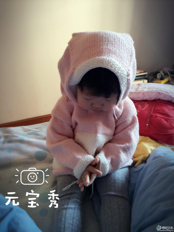 宝宝棒针驴衣