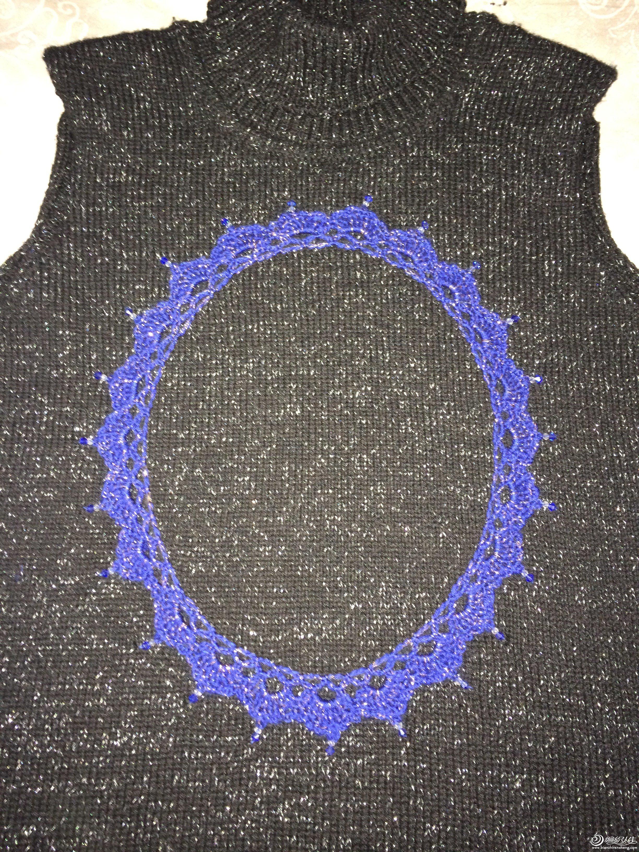 缝上装饰花边的的珠子,.JPG