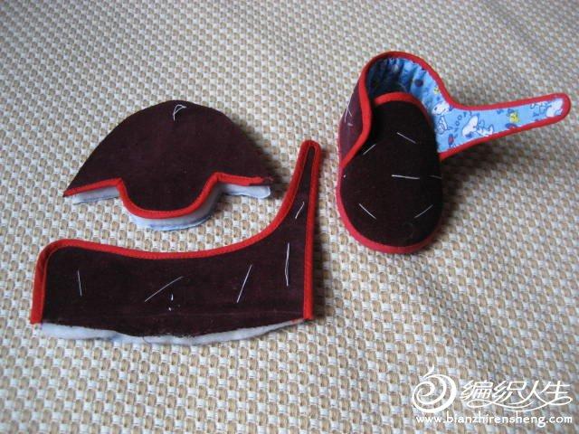 儿童卡通服装_宝宝手工布鞋之舒适的宝宝布棉鞋做法-编织人生