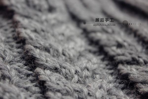 [开衫] 邂逅手工——浅格~~~长款麻花开衫 - yn595959 - yn595959 彦妮