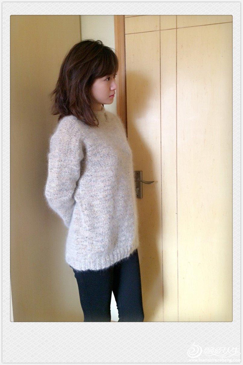 简洁女士毛衣
