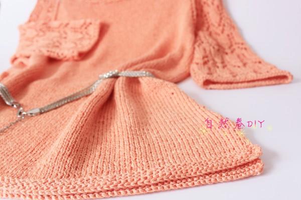 [套头衫] 【自然卷DIY】海仙女~女士套头镂空中袖~ - yn595959 - yn595959 彦妮