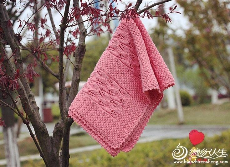 毛线编织毯