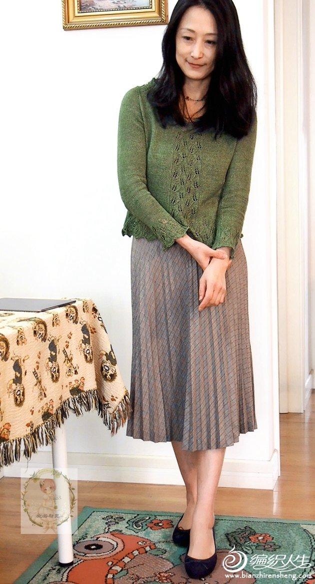 女士麻线毛衣