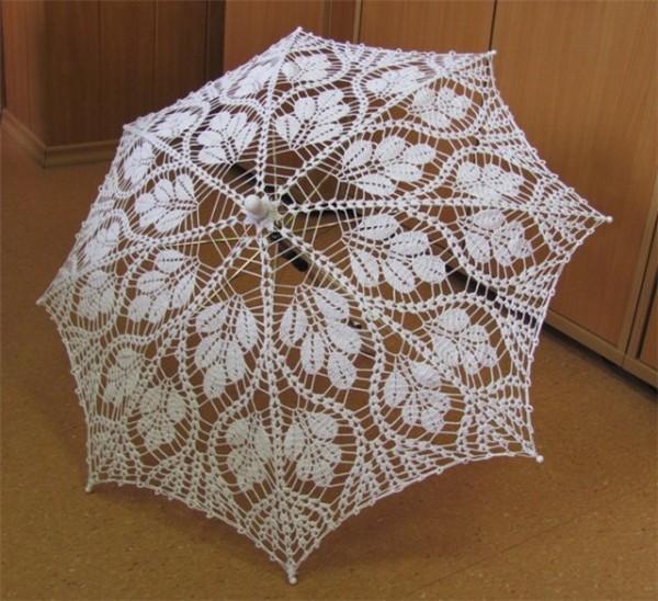 钩针编织太阳伞花样图解大全|钩针花样图解