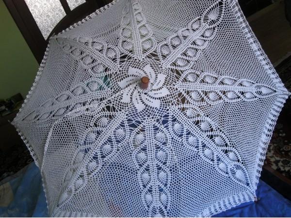 钩针蕾丝伞图解总集