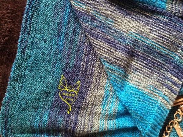 [套头衫] 【白毛宝宝】紫蓝 棉麻段染育克短袖衫裙 - yn595959 - yn595959 彦妮